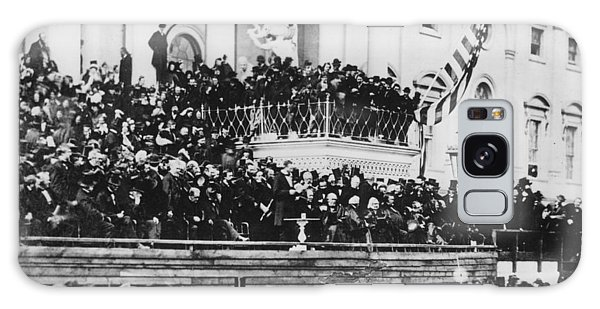 Abraham Lincoln Gives His Second Inaugural Address - March 4 1865 Galaxy Case