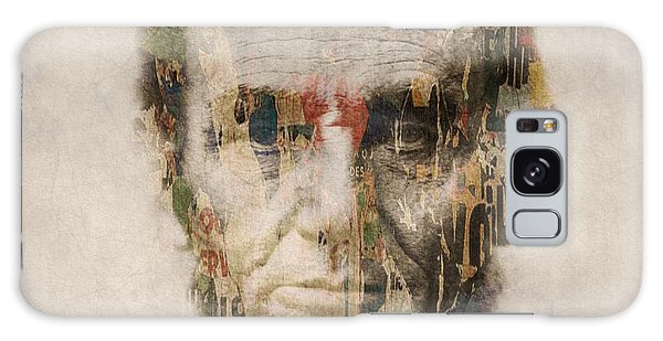 Usa Galaxy Case - Abraham Lincoln  by Paul Lovering