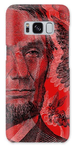 Abraham Lincoln Pop Art Galaxy Case
