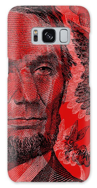 Abraham Lincoln Pop Art Galaxy Case