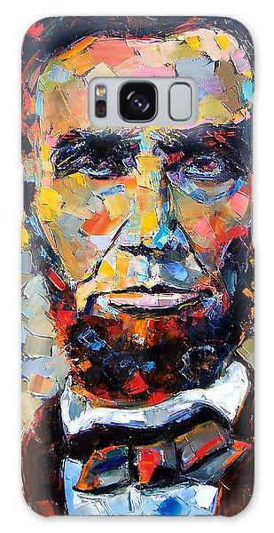 Impressionism Galaxy S8 Case - Abraham Lincoln Portrait by Debra Hurd