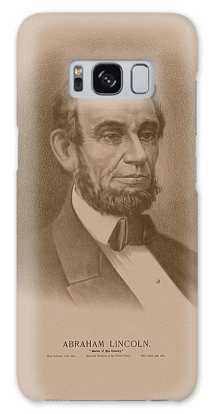 Abraham Lincoln Galaxy Case - Abraham Lincoln - Savior Of His Country by War Is Hell Store
