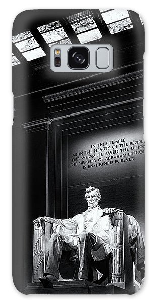 Abraham Lincoln Seated Galaxy Case by Andrew Soundarajan