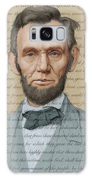Abraham Lincoln - Soft Palette Galaxy Case