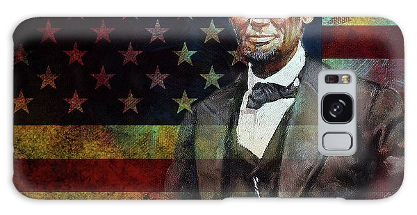 Abraham Lincoln The President  Galaxy Case by Gull G