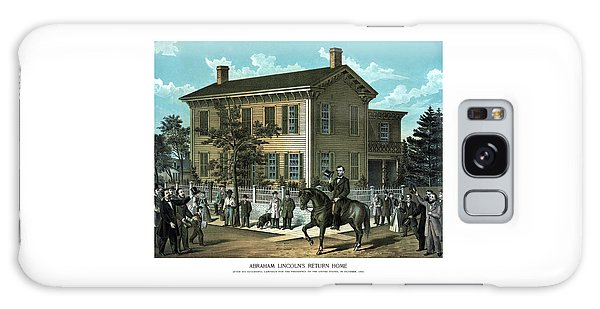 Abraham Lincoln Galaxy Case - Abraham Lincoln's Return Home by War Is Hell Store