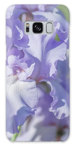 Absolute Treasure Closeup 2. The Beauty Of Irises Galaxy Case