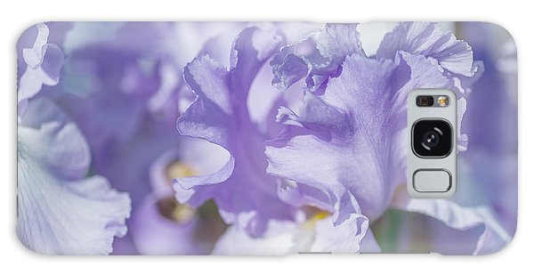 Absolute Treasure Closeup. The Beauty Of Irises Galaxy Case