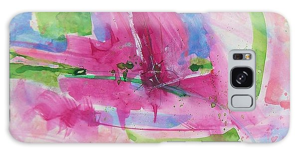 Galaxy Case featuring the painting Abstract #219 by Robert Anderson