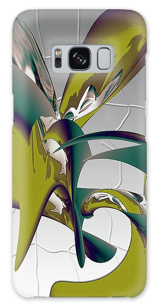 Galaxy Case featuring the digital art Abstract 2258 by Gerlinde Keating - Galleria GK Keating Associates Inc