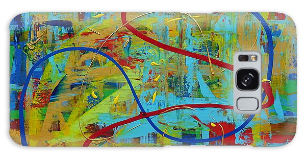 Abstract 2_untitled Galaxy Case