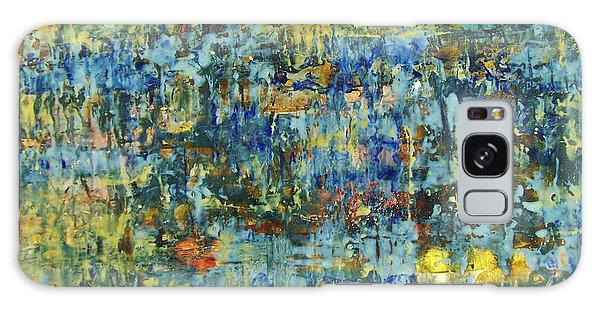 Galaxy Case featuring the painting Abstract #329 by Robert Anderson