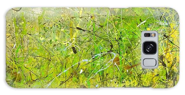 Abstract #42515b Or Marsh Life Galaxy Case