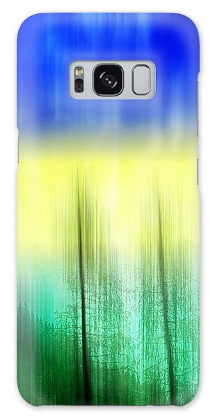 Galaxy Case featuring the digital art Abstract 43 by Gerlinde Keating - Galleria GK Keating Associates Inc