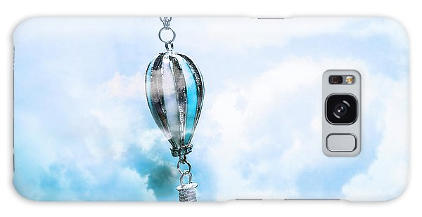Metal Galaxy Case - Abstract Air Baloon Hanging On Chain by Jorgo Photography - Wall Art Gallery