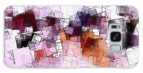 Abstract And Minimalist Art Made Of Geometric Shapes Galaxy Case by Ayse Deniz