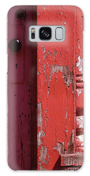 abstract architecture - Red Door Galaxy Case