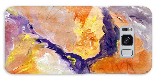 Abstract Art - Fire River Galaxy Case