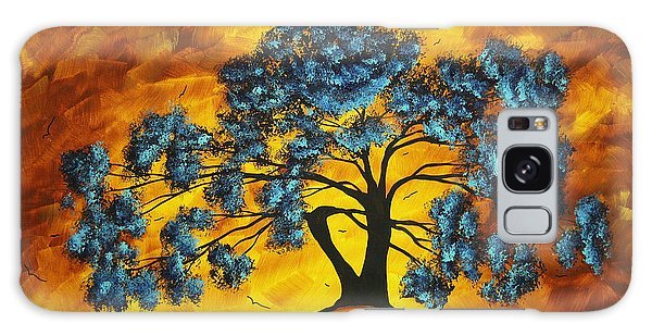 Limb Galaxy Case - Abstract Art Original Landscape Painting Dreaming In Color By Madartmadart by Megan Duncanson
