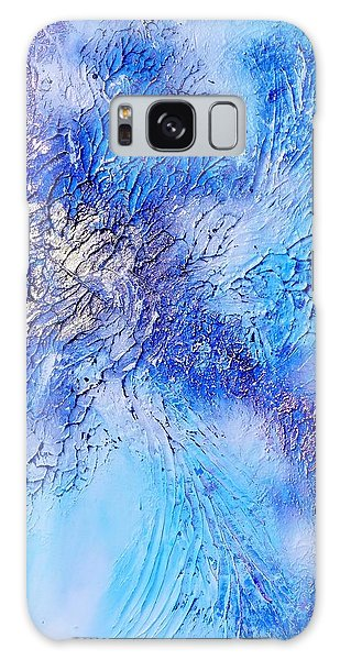 Abstract Art - The Colors Of Winter Galaxy Case