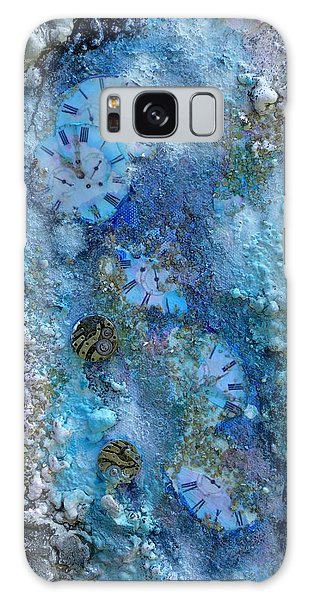 Abstract Art - Time Is Precious  Galaxy Case