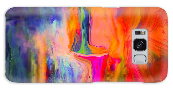 Abstract Art  Waiting Galaxy Case by Sherri's Of Palm Springs
