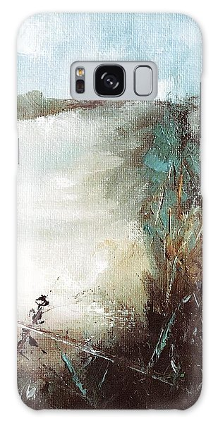 Abstract Barbwire Pasture Landscape Galaxy Case by Michele Carter