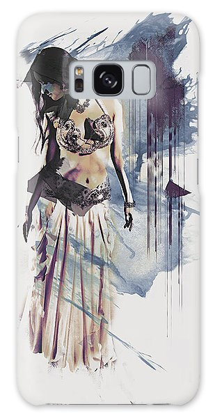 Abstract Bellydancer Galaxy Case