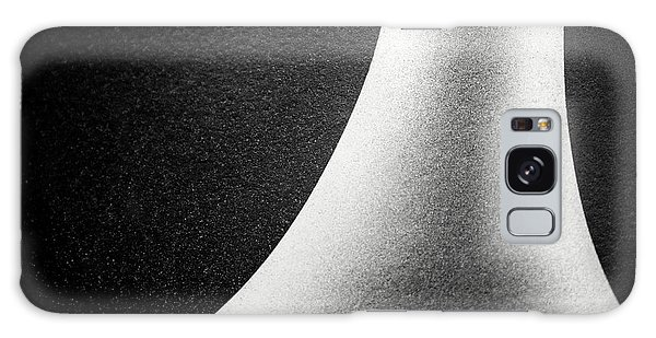 Abstract-black And White Galaxy Case