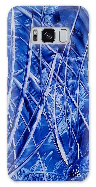 Abstract Blues Encaustic Galaxy Case