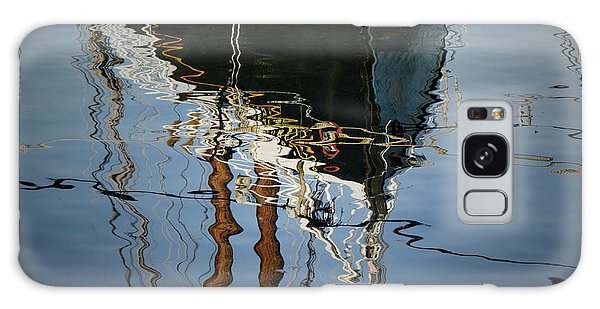 Abstract Boat Reflection IIi Galaxy Case