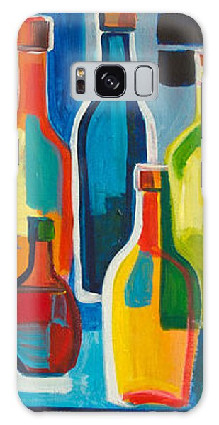 Abstract Bottles Galaxy Case