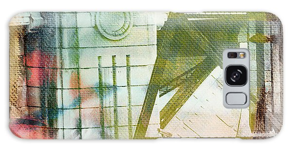 Abstract Bridge With Color Galaxy Case by Susan Stone