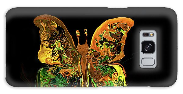 Abstract Butterfly Galaxy Case