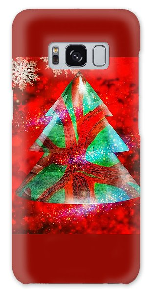 Abstract Christmas Bright Galaxy Case