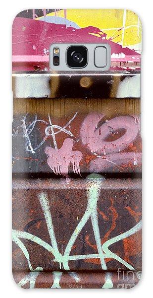 abstract cities still life - Designer Dumpster Galaxy Case