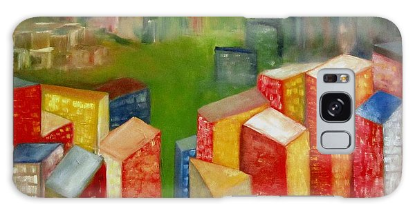 Abstract Cityscape Project Series II Galaxy Case by Patricia Cleasby