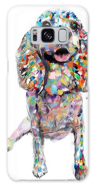 Abstract Cocker Spaniel Galaxy Case