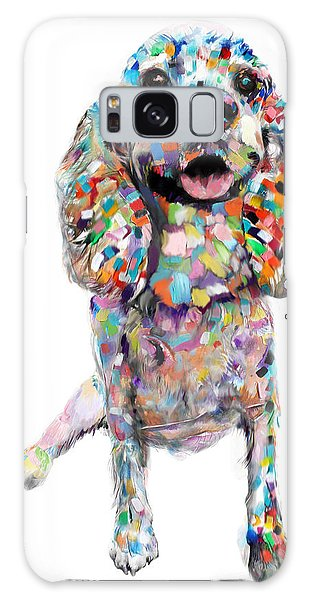 Abstract Cocker Spaniel Galaxy Case