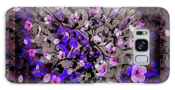 Abstract Cherry Blossom Galaxy Case