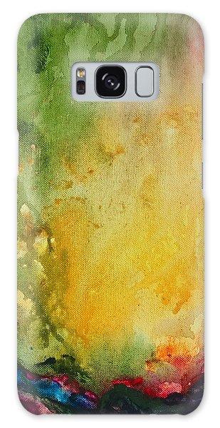 Abstract Color Splash Galaxy Case