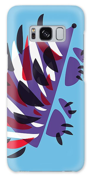 Abstract Colorful Hedgehog Galaxy Case