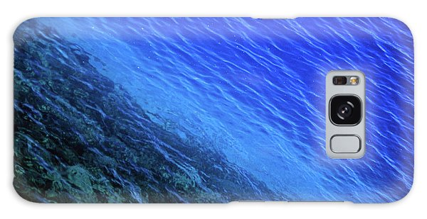 Abstract Crater Lake Blue Water Galaxy Case