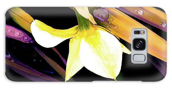 Abstract Daffodil And Droplets Galaxy Case