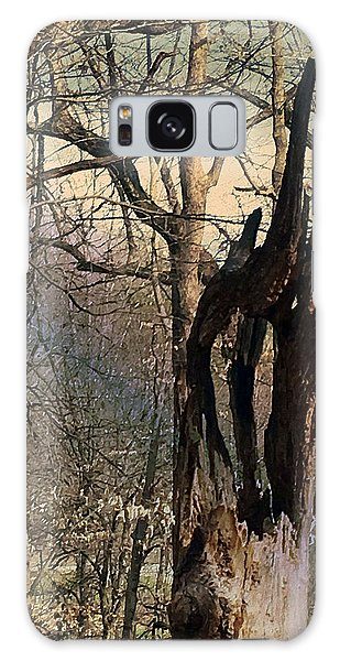 Abstract Dead Tree Galaxy Case