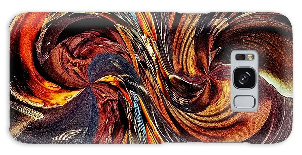 Abstract Delight Galaxy Case