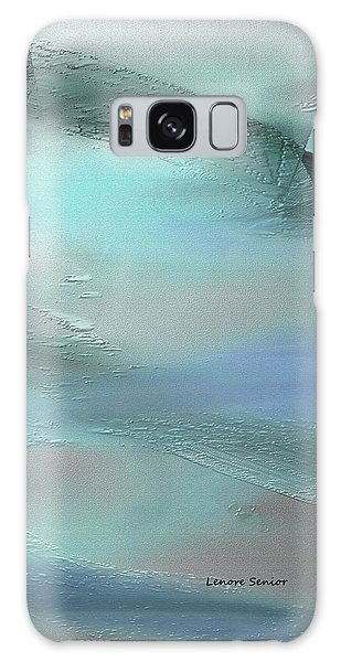 Abstract - Duct Tape Galaxy Case by Lenore Senior