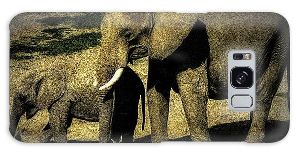 Abstract Elephants 23 Galaxy Case