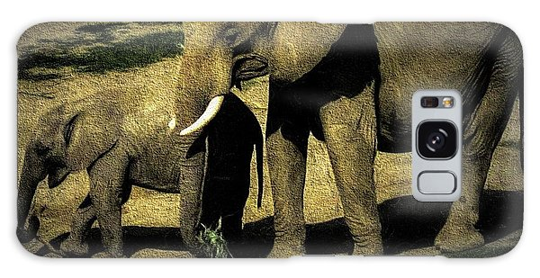 Abstract Elephants 23 Galaxy Case
