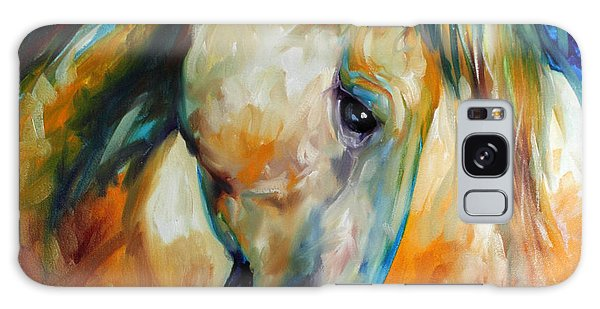 Abstract Equine Eccense Galaxy Case
